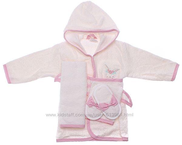 Подарочный набор - Детский махровый халат с аксессуарами Bimini