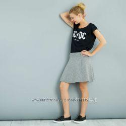 Новая трендовая юбка меланж от кiabi евро 5860