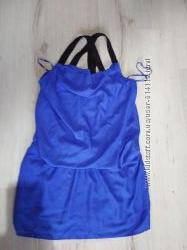 Отличное новое шифоновое платье сарафан  от Kiabi для беременных евро 44