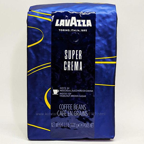 Кофе в зернах Lavazza Super Crema Espresso1 кг