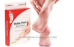 Носочки Baby-foot для педикюра. Эффект 2-3 месяца. Плюс Салфетки Драй Драй