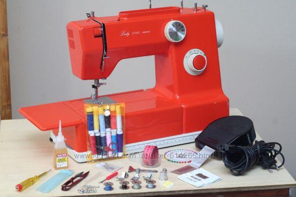 Швейная машина Lady 2000 Vario Германия кожа - Гарантия