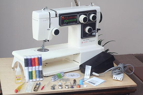 Швейная машина Pfaff Lady 6000 super automatic кожа Германия - Гарантия