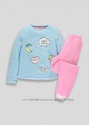 Шикарная флисовая пижама Matalan Англия