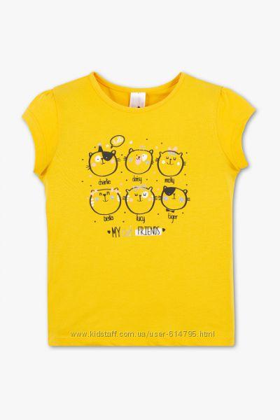 Футболка для девочки C&A , 3-4 лет
