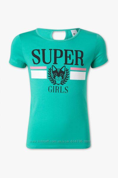 Футболка на девочку подростка c super girls