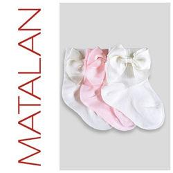 Matalan красивые носки для девочки  . Цена за набор.