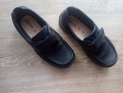 Туфли в школу на мальчика M&S Англия черного цвета