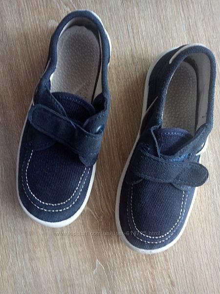 Мокасины Waldi сменная обувь для школы