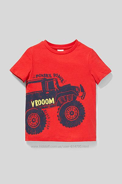 Стильная футболка для мальчиков c&a германия