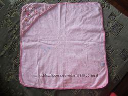 Полотенце банное детское, цвет розовый