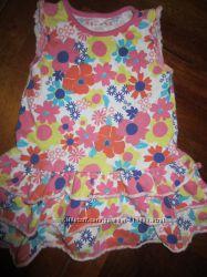 Платье 6шт на 12-18-24мес сарафан джинс