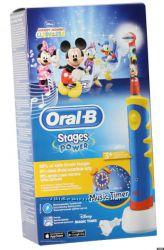 Детская электрическая зубная щетка Braun Oral-B Stages Power D10. 513