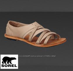 Кожаные сандалии Sorel Стильно, качественно и красиво На ногу 23, 5см
