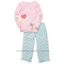 Пижамы и костюмчики для девочек Gap Carters Old Navy 2Т-5Т. Оригинал