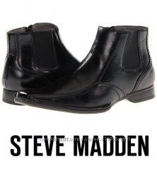 Кожаные мужские туфли Steve Madden Оригинал США Вышлю с примеркой р44