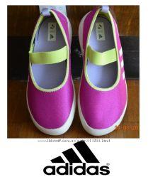 Кеды, балетки слипоны Adidas Boat Slip-On Оригинал стелька 21см