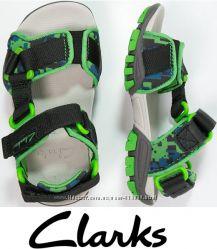 CLARKS zalmo сандалии на ножку 16 17 и 17, 5см