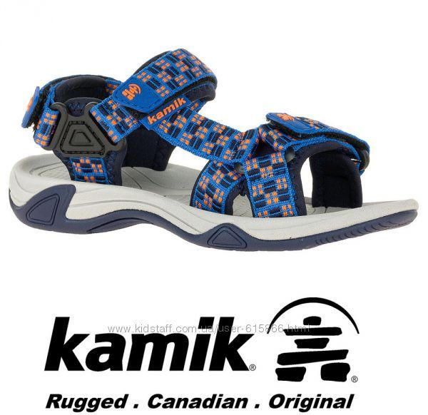 Kamik сандалии неубиваемые и практичные US13 на ногу 19-19. 5см