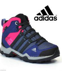 Adidas Climaproof утепленные высокие деми кроссовки US12 EUR30 стелька 19см