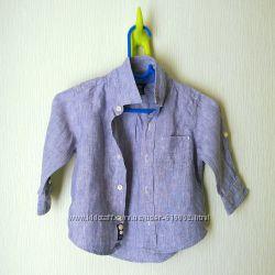 Рубашка лён GAP на 2 года