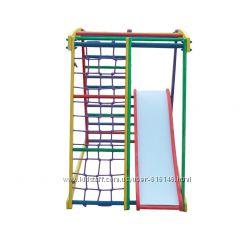 Спортивный уголок, спортивный комплекс, стенка TOP kids color 2