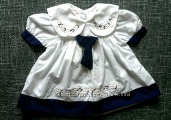 Платье новое на 6-12 месяцев