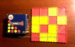 Игра настольная дорожная Connect 4 в 1 ряд mcdonalds