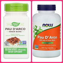 Now Foods, Nature&acutes way, Кора муравьиного дерева, 500 мг, 250 капсул