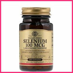 Solgar, Селен, без дрожжей, 100 мкг, 100 таблеток