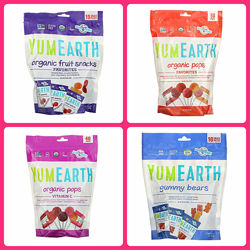 YumEarth,  Органические леденцы, вкус в ассортименте, c Iherb