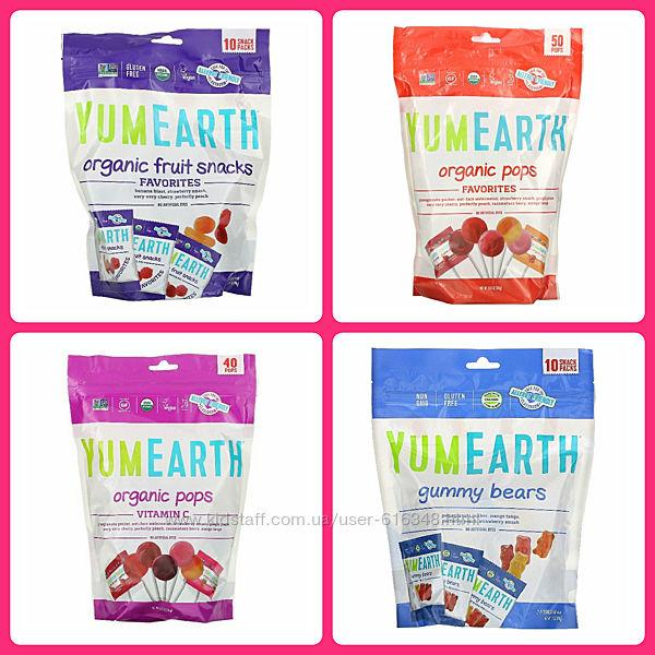YumEarth,  Органические леденцы 50 шт