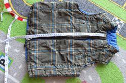 Gap фирменная теплая 2 сторонняя жилетка для мальчика 3-4 года