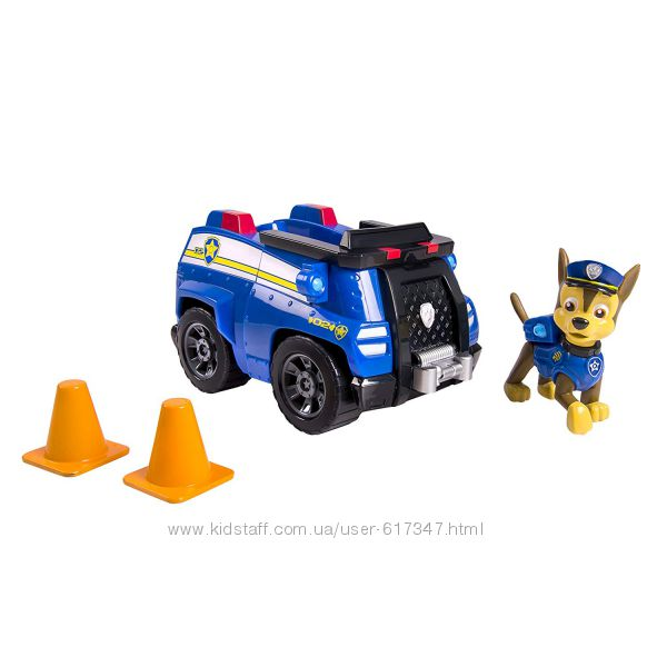 Щенячий патруль Paw Patrol Чейз на полицейкой машине Гонщ