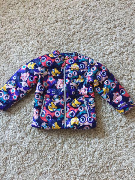 Яркие курточки