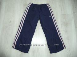 Спортивные штаны Adidas на девочку 116 см бу