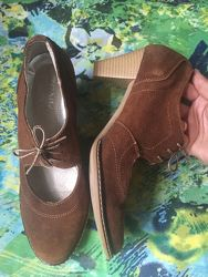 Туфли замшивые Akuz 37 размера