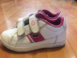 Кросівки для дівчинки шкіряні Lacoste р. 24