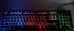 Клавиатура с подсветкой радуга Darshion высокое качество
