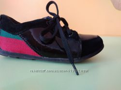 Лаковые туфли мокасины Gucci