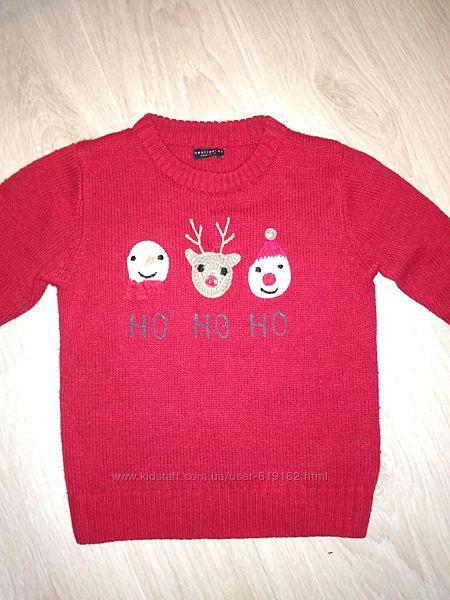 Музыкальный новогодний свитерок