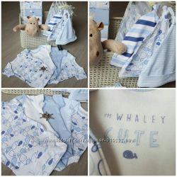 Новый комплект бодиков. Детская одежда для новорожденных DUNNES