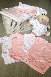 Новые детские вещи. Комплекты бодиков для новорожденных.
