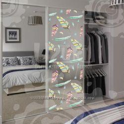 Солнцезащитная пленка на окно, двери, зеркала