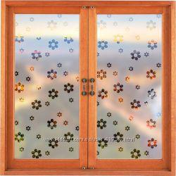 Солнцезащитная матовая пленка на окно, двери, зеркала