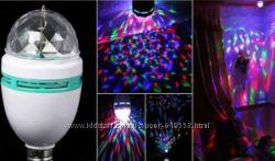 Вращающаяся диско лампа дискошар Прокат