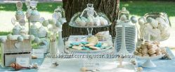 Посуда для кенди-бара  этажерка, фруктовница, пиалла, для торта