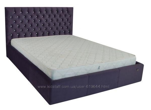 Кровати в мягкой обивке. Ассортимент моделей и цветов. Фабрика RICHMAN.