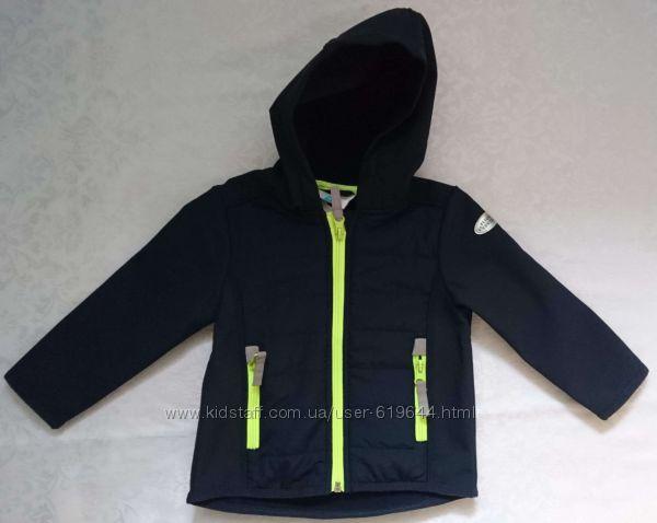 Демисезонные курточки отличного качества. Softshell. Рост 80-86 см.