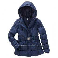 Удлиненная куртка на флисе. Рост 134 и 146 см. Германия.